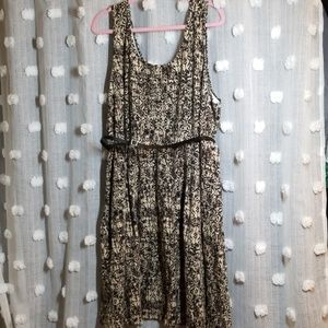 Lane Bryant Skater Knit Dress size 26